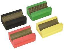5 COARSE FINE Grit V30 Profile Diamond Hand Polishing Pad stone glass countertop