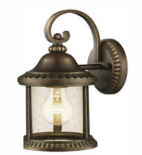 Home Decorators Collection Cambridge Outdoor Essex Bronze Wall Lantern Sconce
