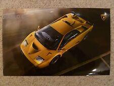 1999 – 2000 Lamborghini Diablo GT 400 Print Picture Poster RARE!! Awesome L@@K