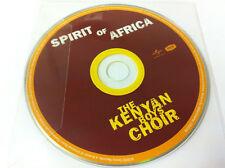 The KENIA Boys Choir - SPIRIT OF AFRICA Música CD 2009 - Disco SÓLO EN MANGA