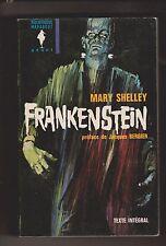 Mary SHELLEY. Frankestein. Marabout 1964. ETAT NEUF. Fantastique