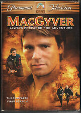 MacGyver - The Complete First Season (Dvd, 2005,Full Screen, 6-Disc Set)