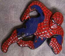 Pewter Belt Buckle Cartoon Superhero Spiderman NEW