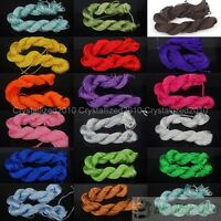 Top Candy Color Premium Nylon Macrame Cord Thread For Diy Bracelet Necklace Roll