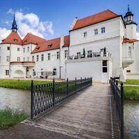 **Schloss Nacht** 4 Sterne Schloss Hotel Drehna Spreewald Sauna Pool Wellness