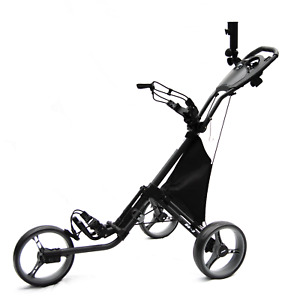 Stinger SG-2 Golf Buggy Push Cart 3 Wheels Lightweight and Compact Design