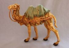 "1983 Roman Fontanini Standing Blanket Camel 7.5"" Scale Nativity Figure 350 Italy"