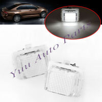 2x Can-bus License Plate Light Lamp For Mercedes W204 W212 W216 W221 Error Free
