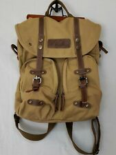 Courser Retro Canvas Camera Cycling Backpack Travel Bag Rucksack Day Pack