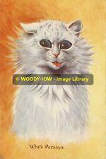rp10236 - Louis Wain Cat - White Persian - photo 6x4