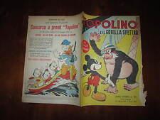 WALT DISNEY ALBO D'ORO N°39 TOPOLINO E IL GORILLA SPETTRO 1*RISTAMPA 1951