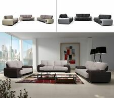 Polstergarnitur Carmen 3+2+1 Große Farbauswahl Couch Sofa Wohnzimmer Design