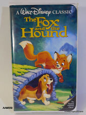 Rare Black Diamond The Fox and the Hound (VHS, 1994) Edition Free Shipping