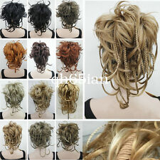 bendable wires tiny braid claw clip ponytail hair pieces wig cosplay