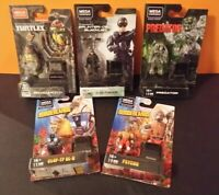 Mega Construx Black Series Stealth Predator Michelangelo Sam Fisher Psycho +more