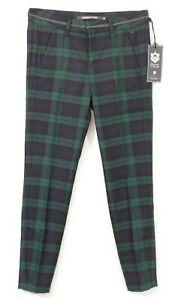 Freeman T Porter pantalon chino carreaux anglais femme Claudia tartan taille 25