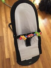 Baby Bjorn Babysitter Balance Bouncer with Wooden Toy Attachment