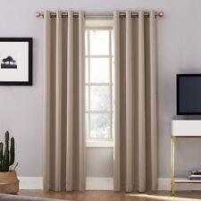 """Oslo Grommet 100% Blackout Window Curtain Panel - Stone - 52"""" x 84"""" - Sun Zero"""