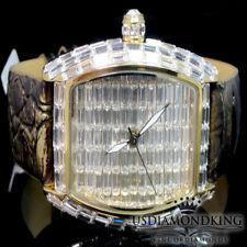 New BlingMaster Watch 2 Tone 1Ct Lab Diamond Baguette Style Joe BM Rodeo Jojino