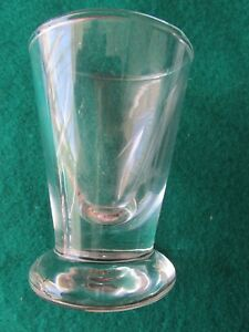 1932 Vintage Shot Glass with Rd Number