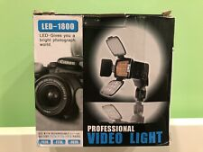 Led-1800 10 Led Video Lamp Light 5000/3200K Professional Photographic Equipment