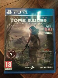 Shadow Of The Tomb Raider - Definitive Edition -  Ps4