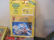 Golden Activity Book & Tape set New Sealed It Rhymes