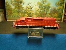 KATO N SCALE #176-20? SD40 UNDECORATED #3067 WRONG BOX