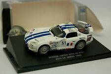 UH 1/43 - Dodge Viper GTS R Nr.51 Le Mans 1996