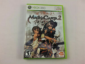 Xbox 360 - Magna Carta 2 CIB w/ Manual - 2nd Disc Damaged, Free Ship