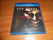 The Purge (Blu-ray/DVD, 2013, 2-Disc Widescreen) Used  Ethan Hawke