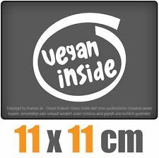 vegan inside 11 x 11 cm JDM Decal Sticker Aufkleber Racing Die Cut