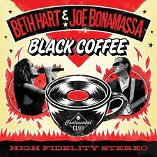 BETH HART/JOE BONAMASSA-BLACK COFFEE (BLACK,BONUSTRACK+MP3 2 VINYL LP + MP3 NEW!