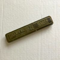 Vintage Gullatt Razor Co Box Only Barber Shaving