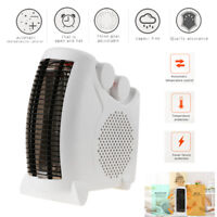 2000W 2KW Universal Portable Upright Silent Electric Fan Heater Hot Thermostat