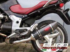 Moto Guzzi Breva 850 1100 1200 MassMoto Terminale Scarico Oval Carbonio