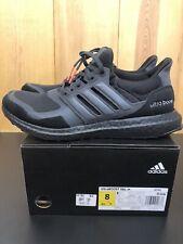 New Men's Adidas UltraBoost Triple Black Shoes Men's US Size 8 EF1361 $180