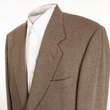Canali Mens 42R Brown Silk Wool Nylon Sports Coat Suit Jacket Italy