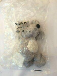 avon rare vintage  beanos scruffy pets missy mouse