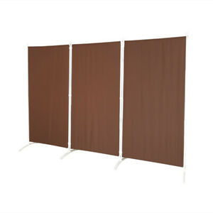 Room Divider – Folding Partition Privacy Screen for School, Church, Office, 102""