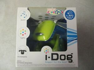 SEALED MIB 2006 I-DOG TOYS R US EXCLUSIVE MP3 PLAYER ROBOT DOG BY TIGER