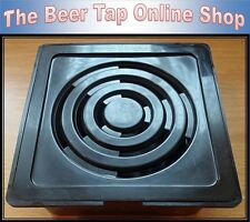 New Plastic Beer Pump Drip Tray 4 x 4 - Home Bar, Pub, Man Cave, Cask Beer Tap.