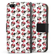 Apple iPhone 5s Tasche Hülle Flip Case - Minnie Mouse Pattern