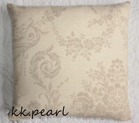 "RETRO SCANDI CONTEMPORARY Cushion Cover JOHN LEWIS BLENHEIM Leaf  Fabric 16"""