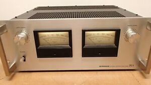 Good Condition Vintage Pioneer SPEC-4 Stereo Amplifier - Clean & Works Good