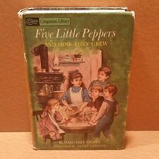 1963 Five Little Peppers and How They Grew + Alice In Wonderland & Through glass