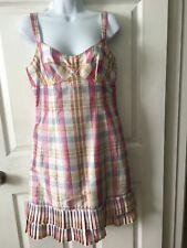 Womens Nanette Lepore Multicolored Silk Dress Size 6