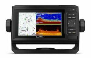 "Garmin 010-02329-00 6"" ECHOMAP UHD 62cv Without Transducer W/ Worldwide Basemap"