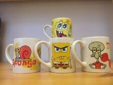 Spongebob Squarepants Mugs Set Of 4 Nickelodion