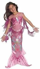 Unbranded Polyester Mermaid Dress Costumes for Girls
